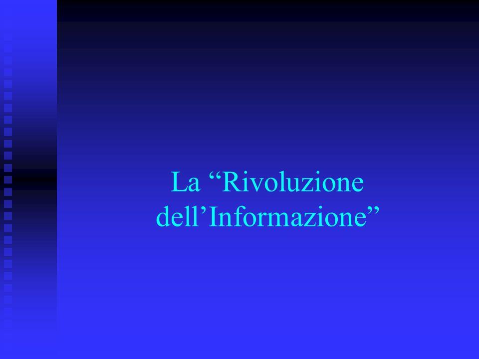 La Rivoluzione dell'Informazione