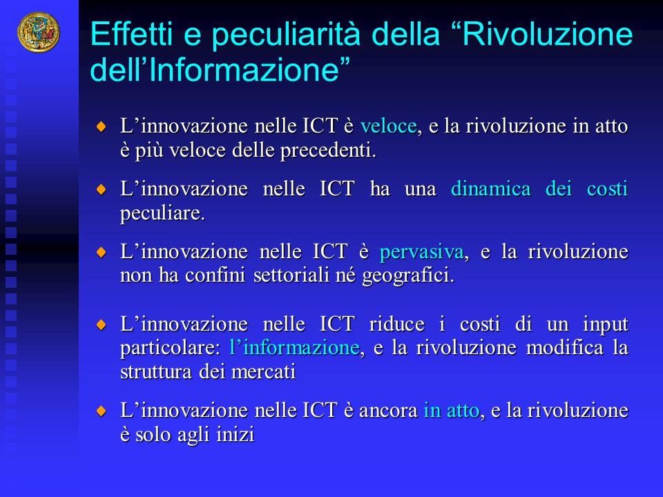Effetti e peculiarità della Rivoluzione dell'Informazione