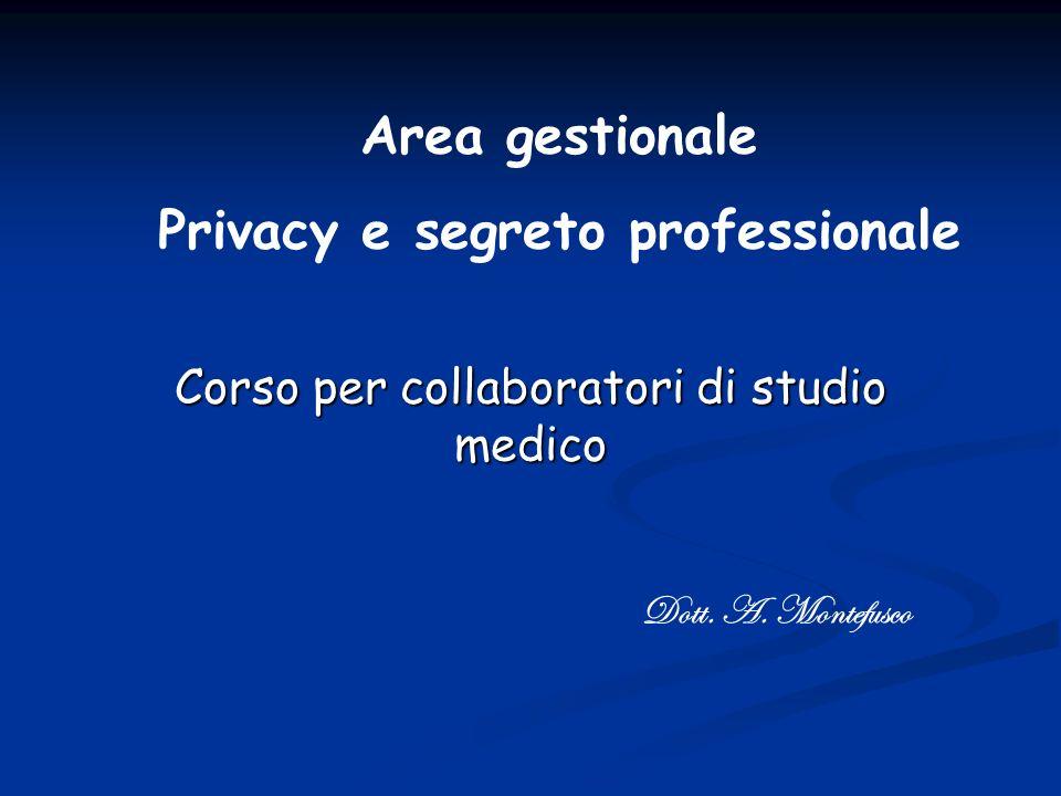 Corso per collaboratori di studio medico