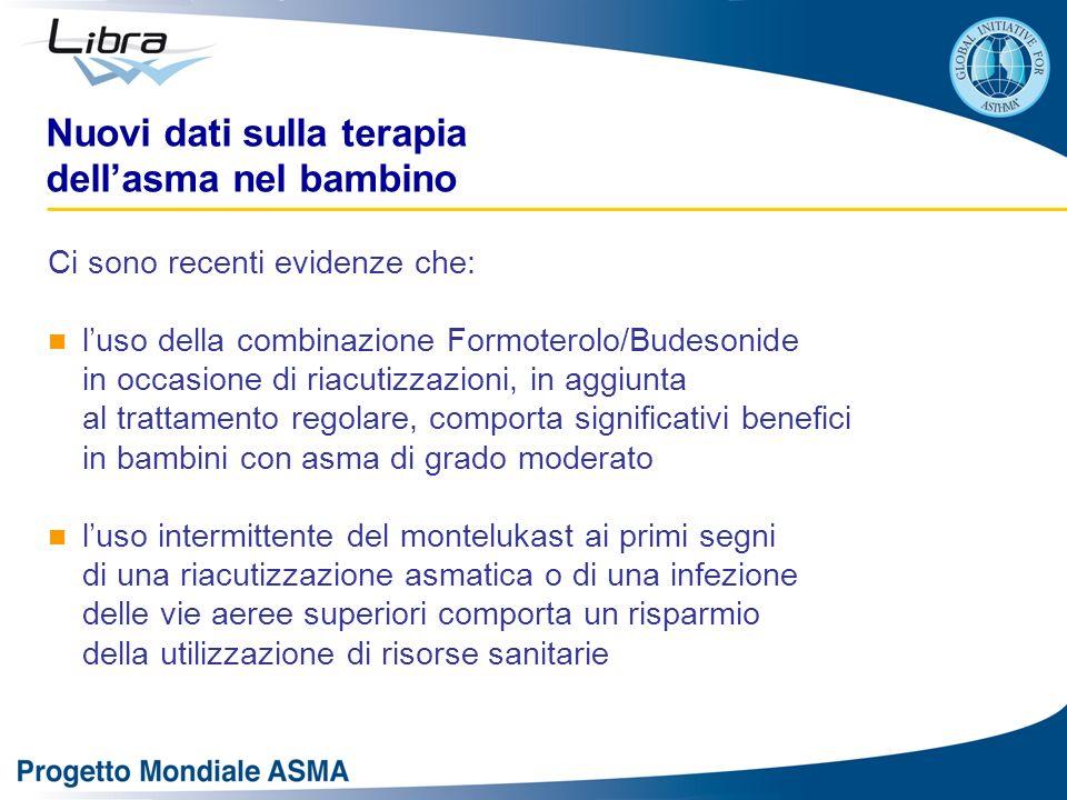 Nuovi dati sulla terapia dell'asma nel bambino