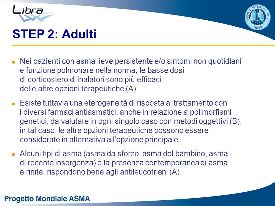 STEP 2: Adulti