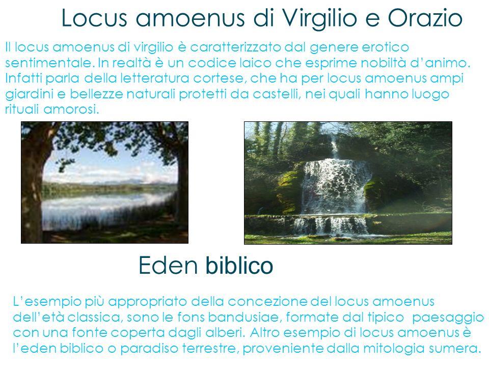 Locus amoenus di Virgilio e Orazio