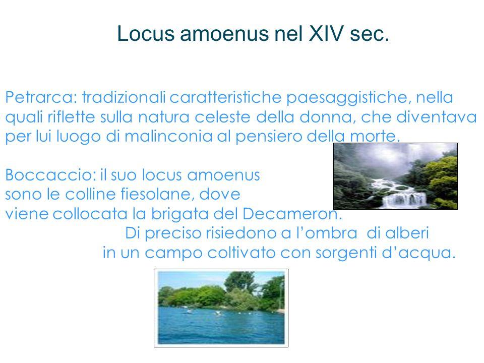 Locus amoenus nel XIV sec.