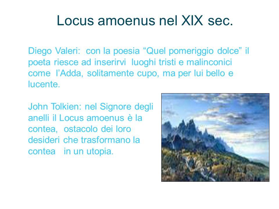 Locus amoenus nel XIX sec.