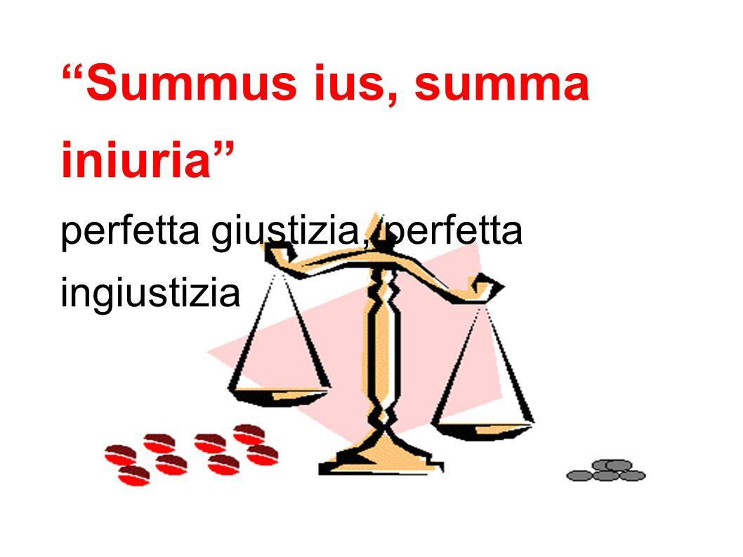 Summus ius, summa iniuria