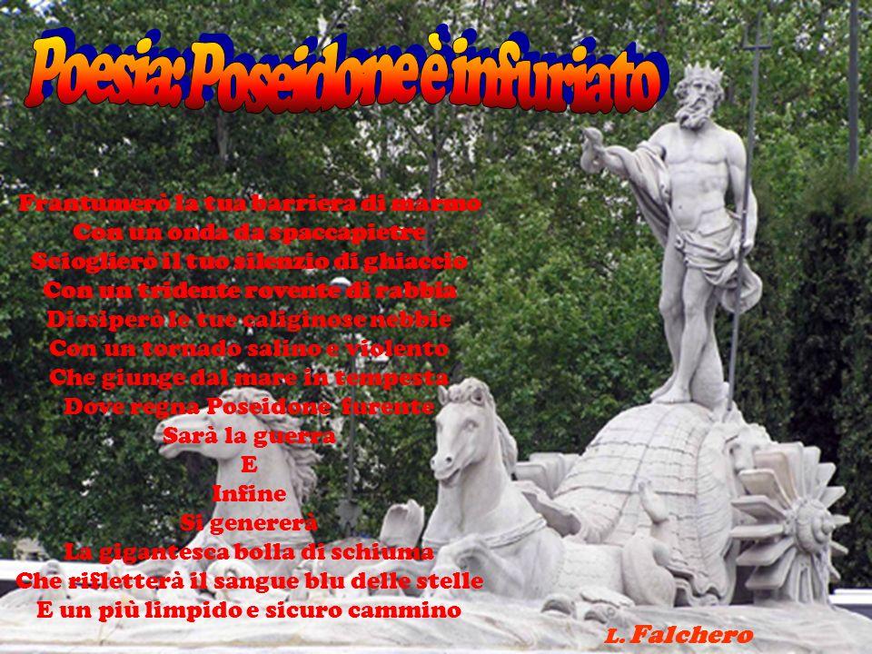 Poesia: Poseidone è infuriato