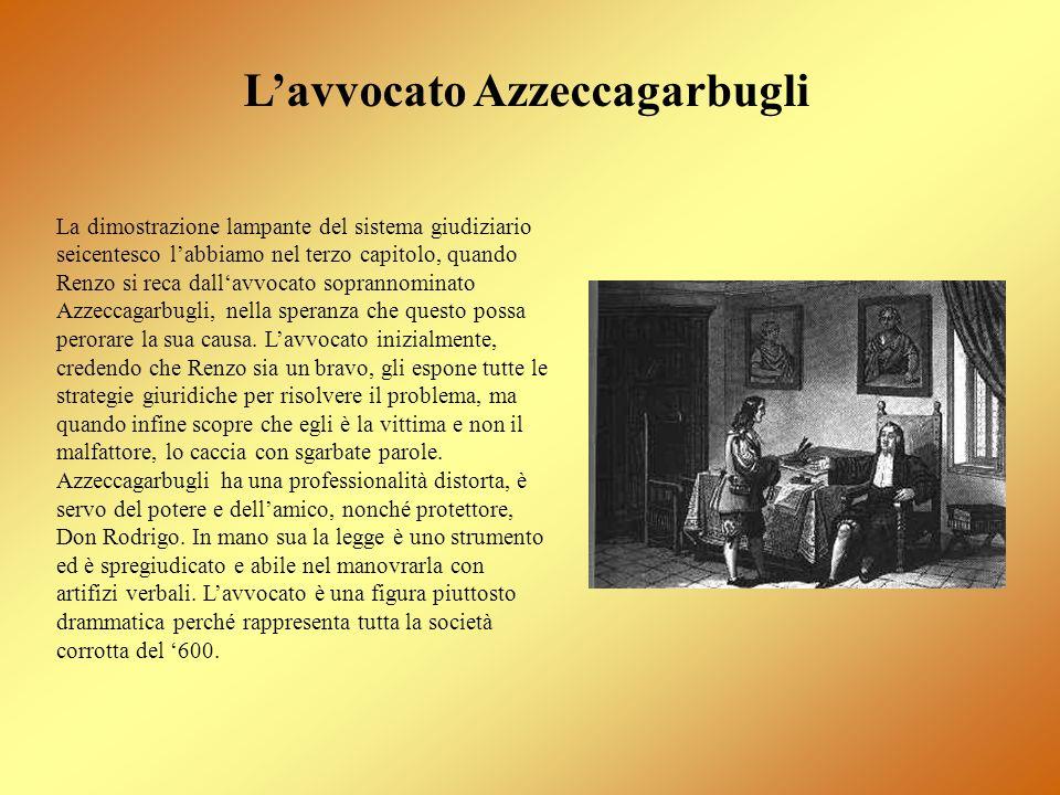 L'avvocato Azzeccagarbugli