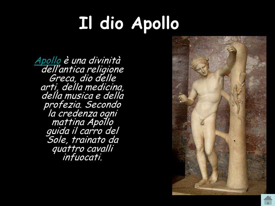 Il dio Apollo