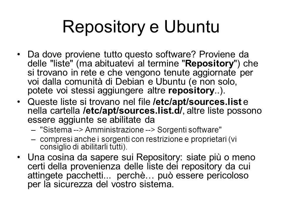 Repository e Ubuntu