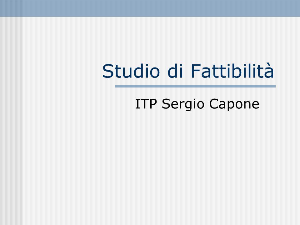 Studio di Fattibilità ITP Sergio Capone