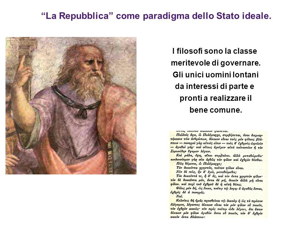 La Repubblica come paradigma dello Stato ideale.
