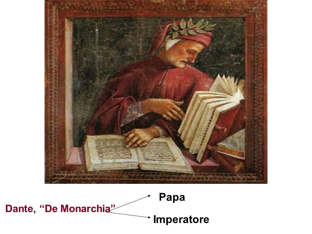 Papa Dante, De Monarchia Imperatore