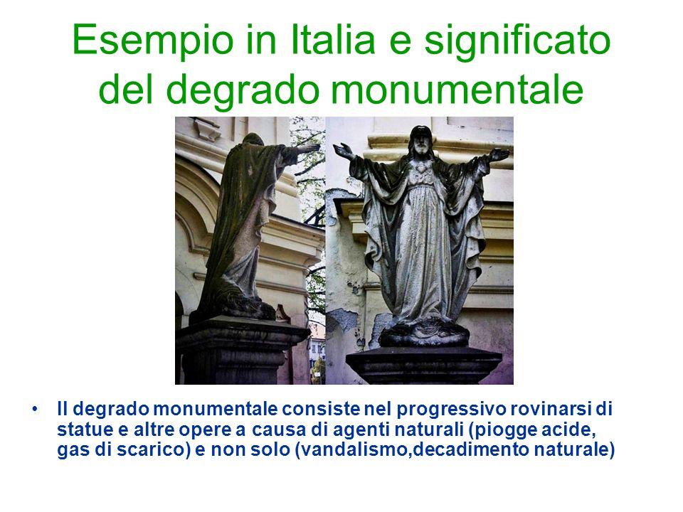 Esempio in Italia e significato del degrado monumentale