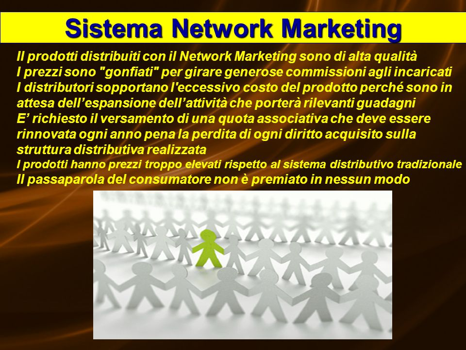 Sistema Network Marketing