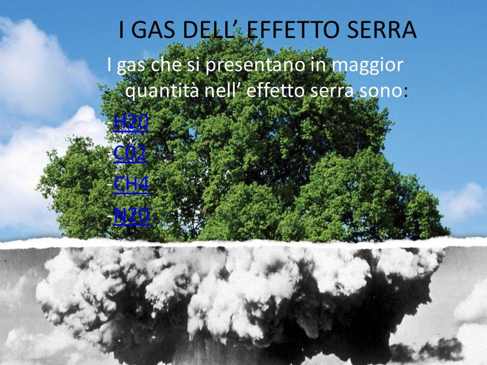 I GAS DELL' EFFETTO SERRA