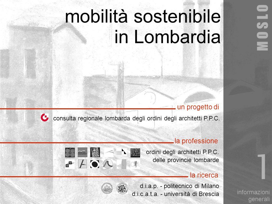 1 mobilità sostenibile in Lombardia M O S L O un progetto di