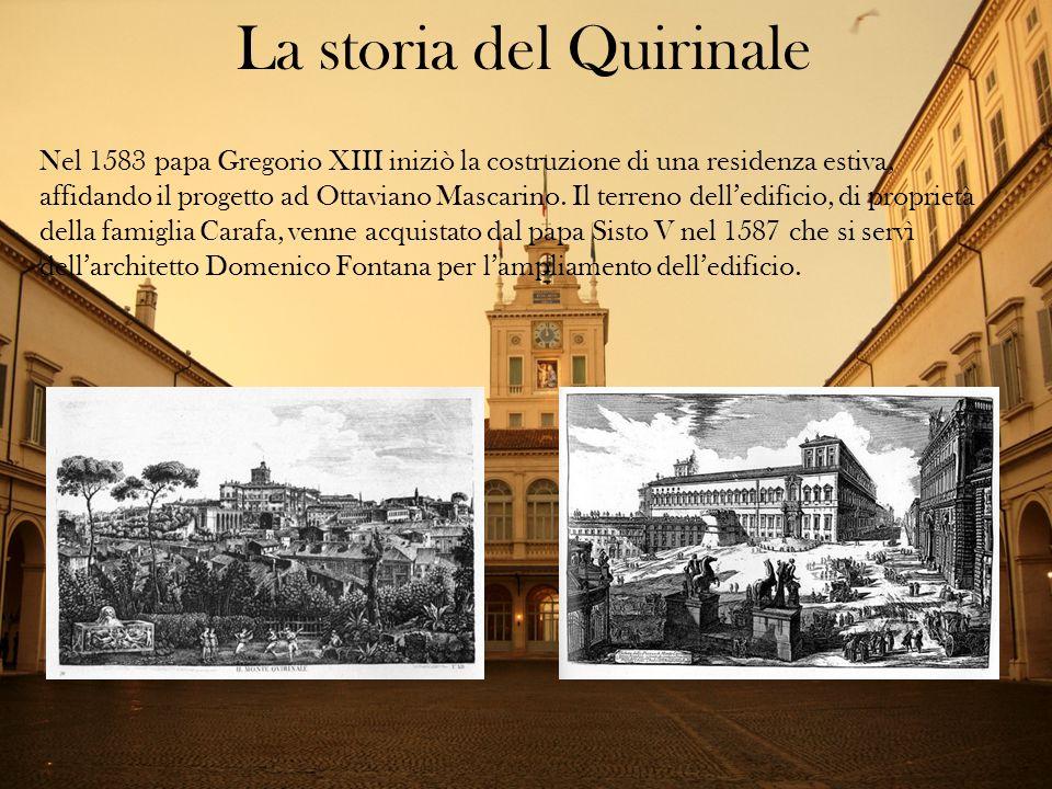 La storia del Quirinale