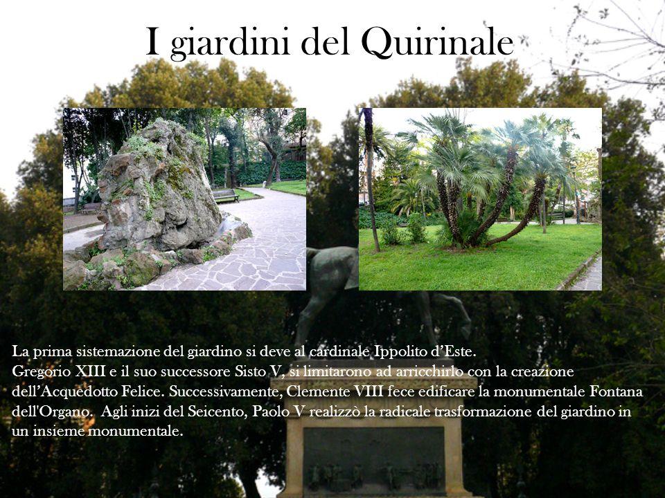 I giardini del Quirinale