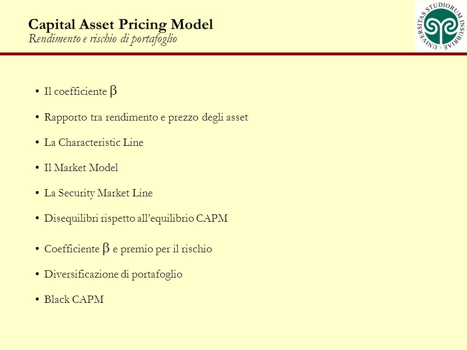 Testing the Capital Asset Pricing Model