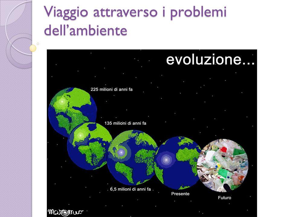 Viaggio attraverso i problemi dell'ambiente