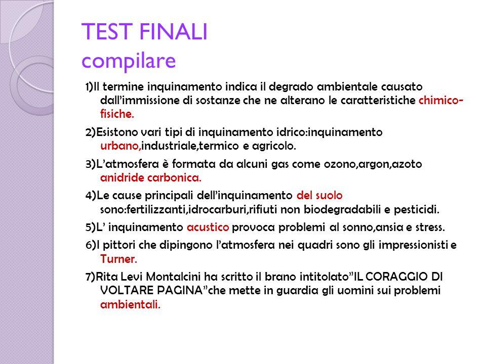 TEST FINALI compilare