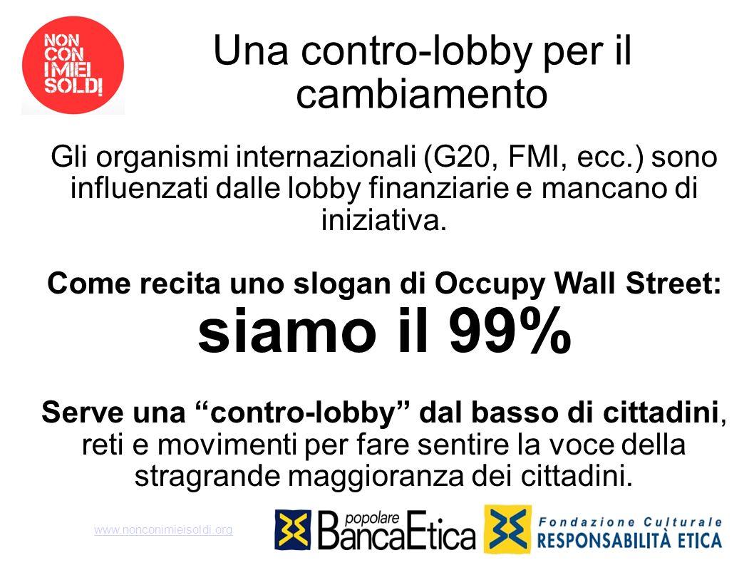 Una contro-lobby per il cambiamento