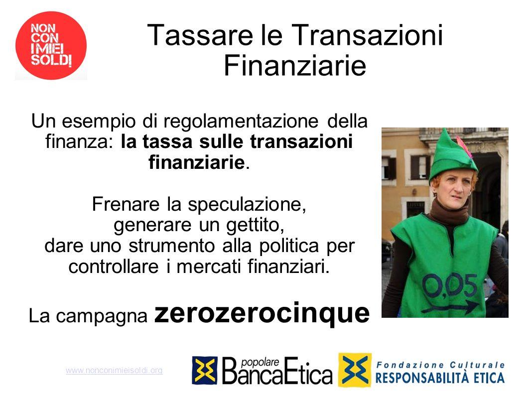 Tassare le Transazioni Finanziarie