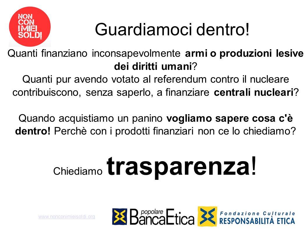 Chiediamo trasparenza!
