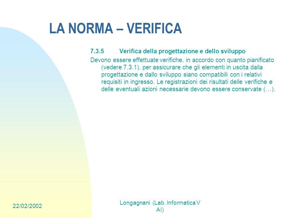 Longagnani (Lab. Informatica V AI)