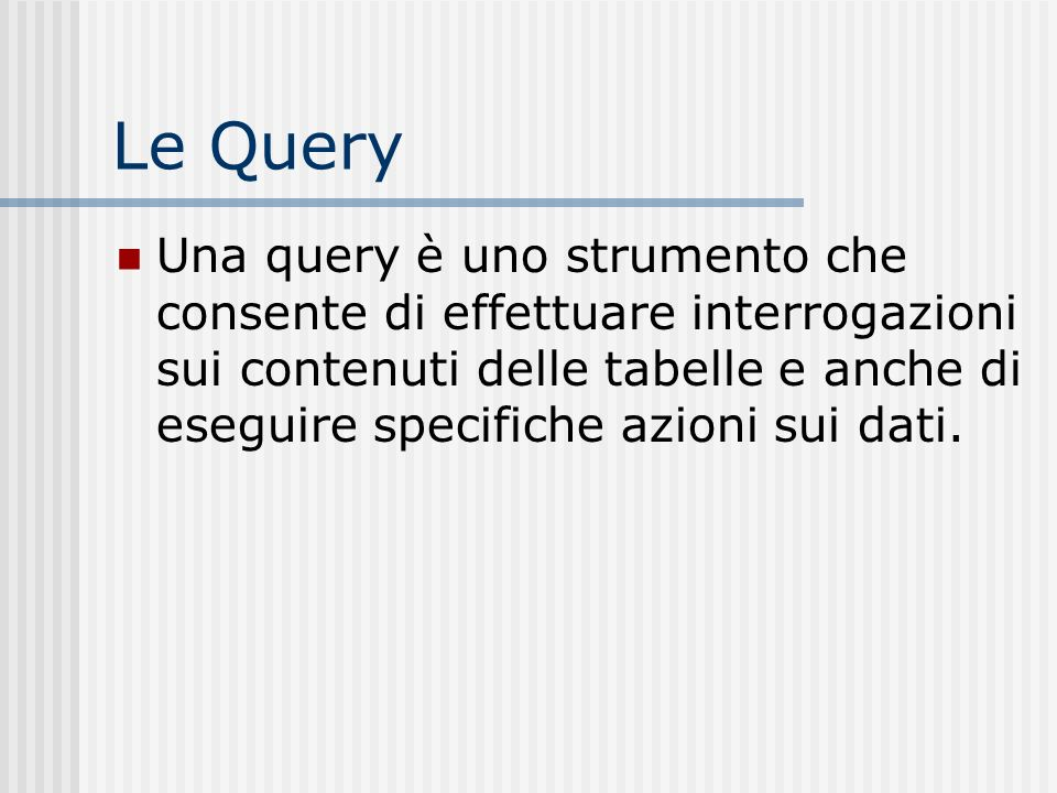 Le Query