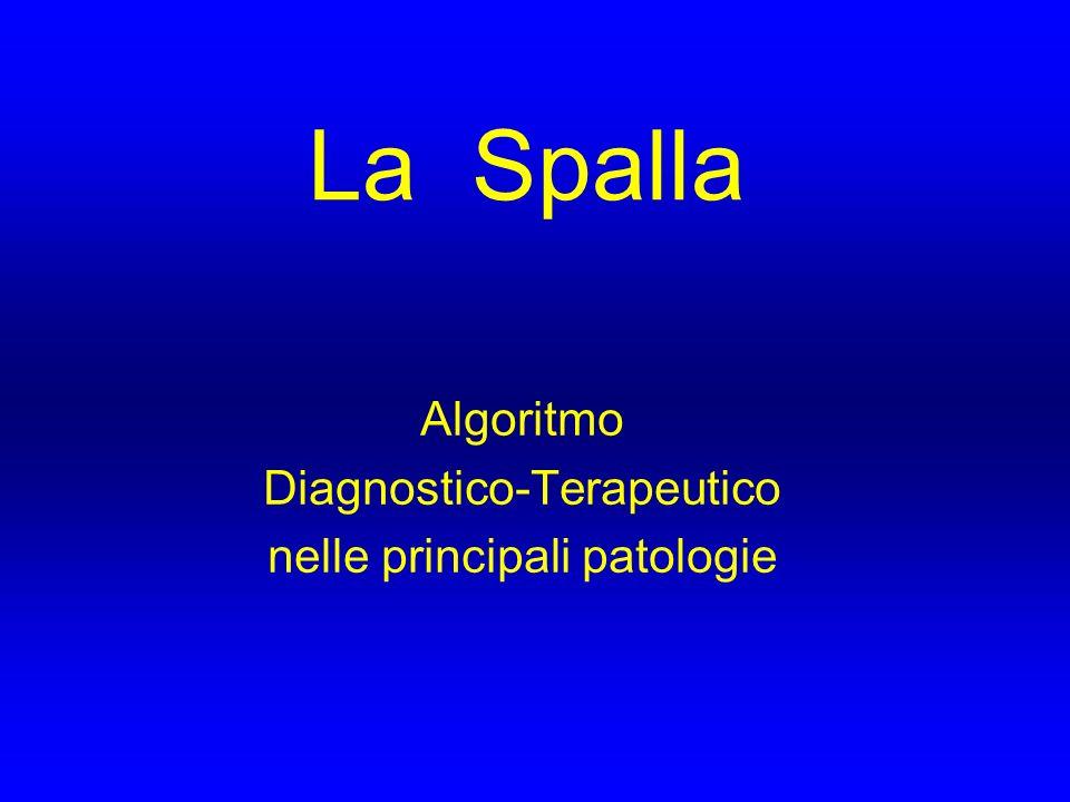 Algoritmo Diagnostico-Terapeutico nelle principali patologie