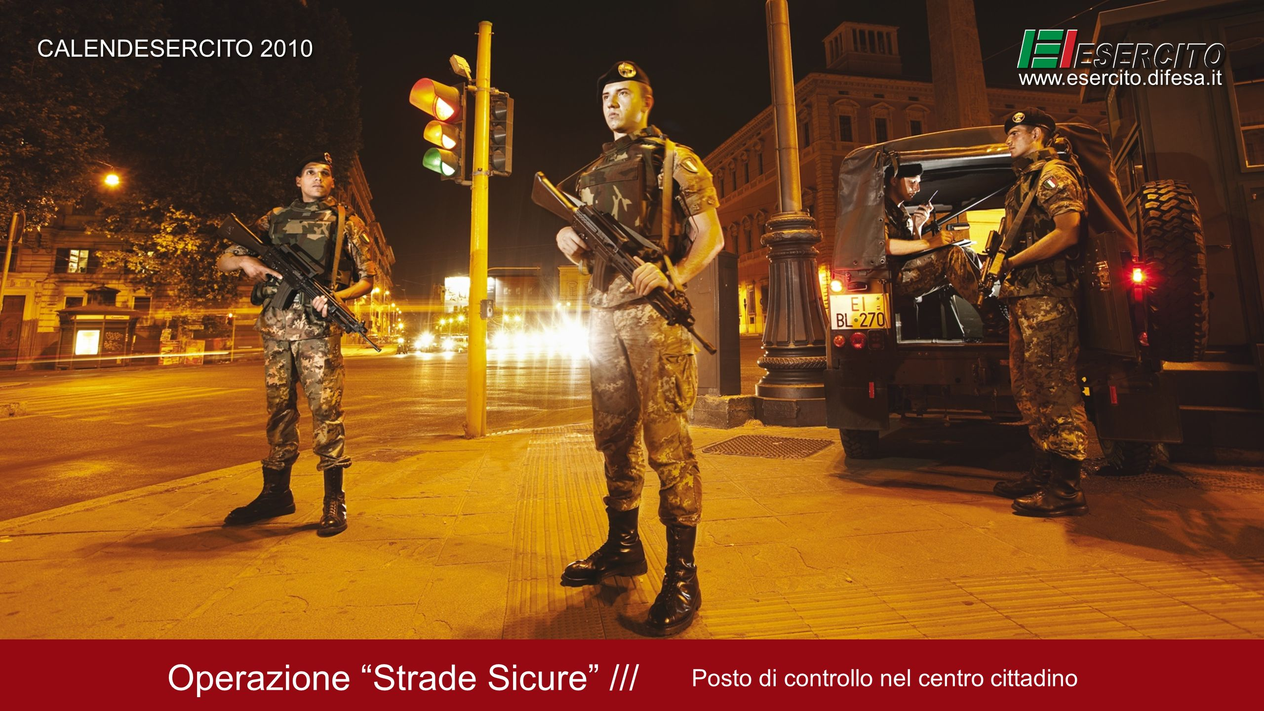 Operazione Strade Sicure ///