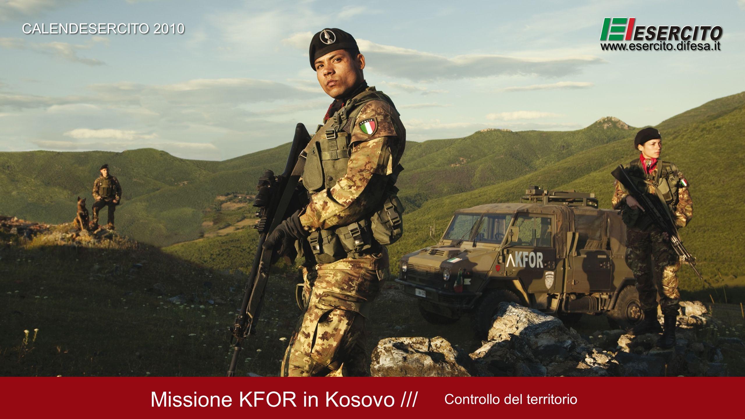 Missione KFOR in Kosovo ///