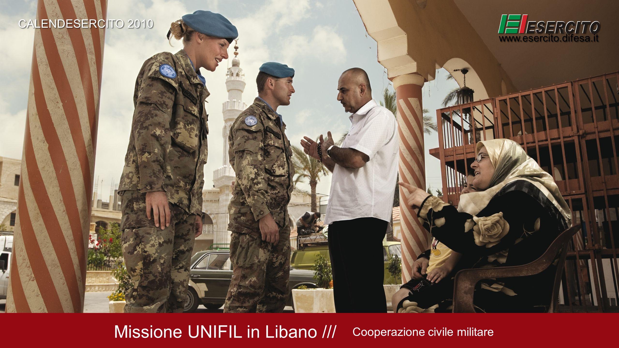 Missione UNIFIL in Libano ///