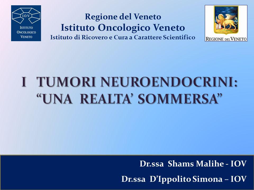I TUMORI NEUROENDOCRINI: UNA REALTA' SOMMERSA