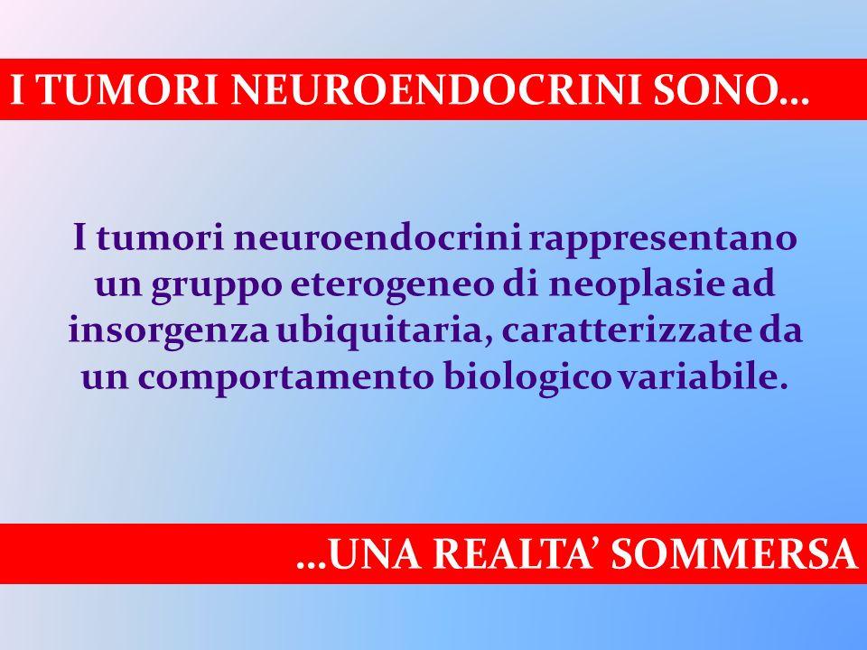 I TUMORI NEUROENDOCRINI SONO…