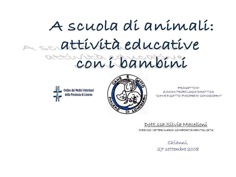 A scuola di animali: attività educative con i bambini