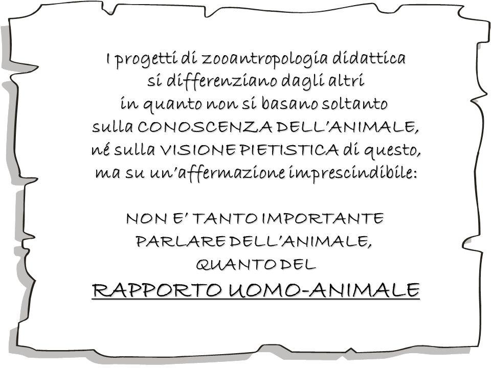 RAPPORTO UOMO-ANIMALE