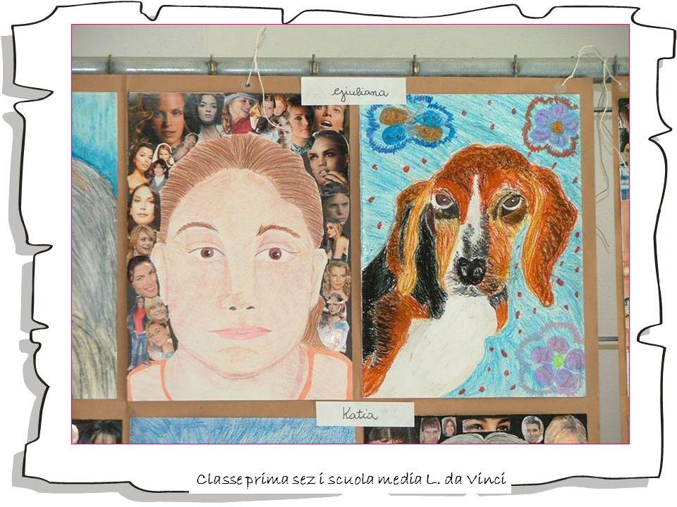 Classe prima sez i scuola media L. da Vinci