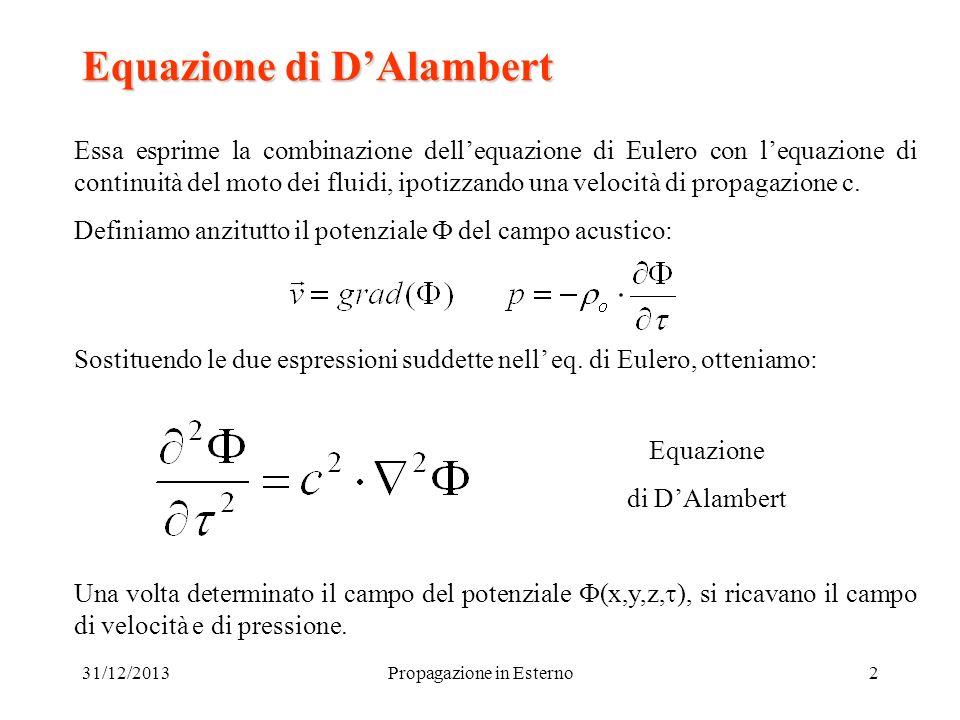 Equazione di D'Alambert