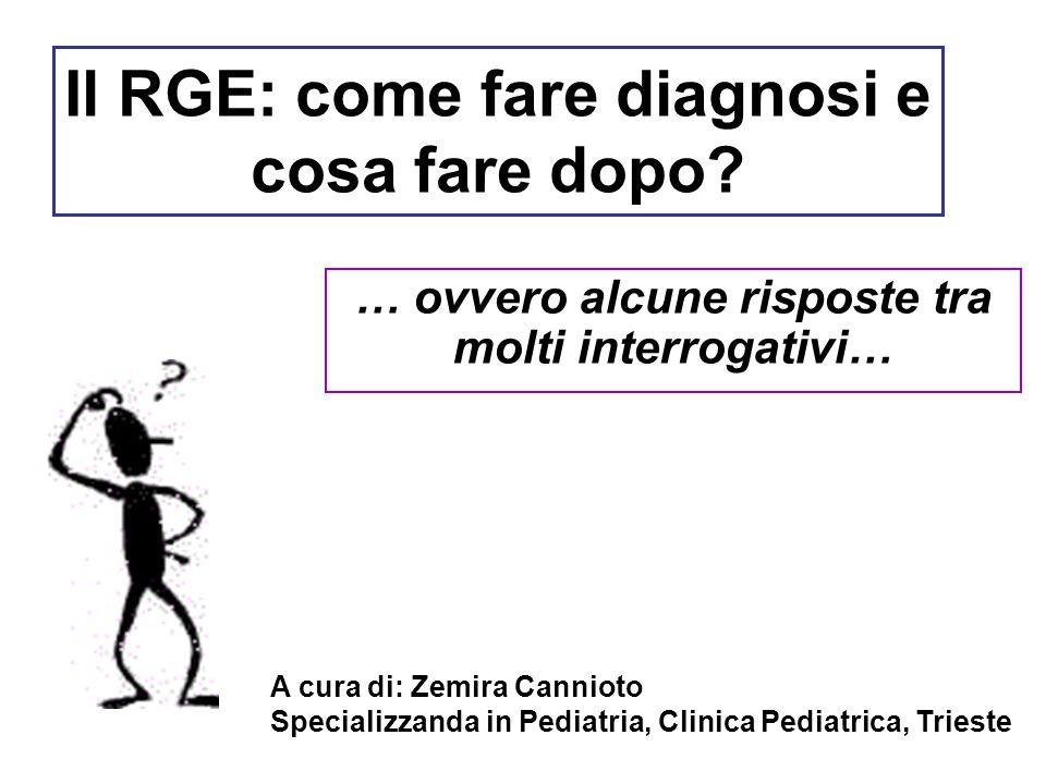 Il RGE: come fare diagnosi e cosa fare dopo