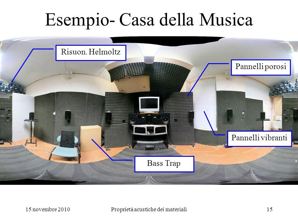 Esempio- Casa della Musica