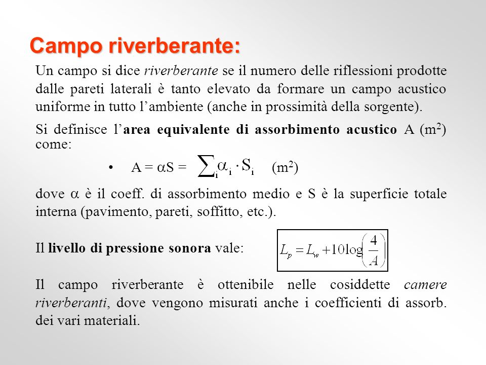 Campo riverberante: