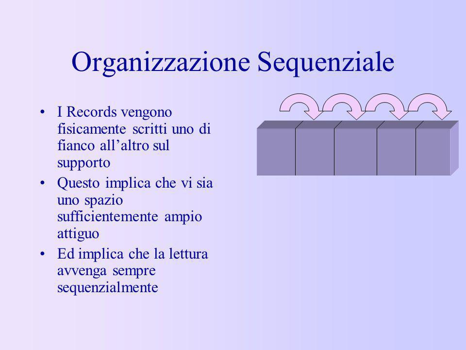 Organizzazione Sequenziale