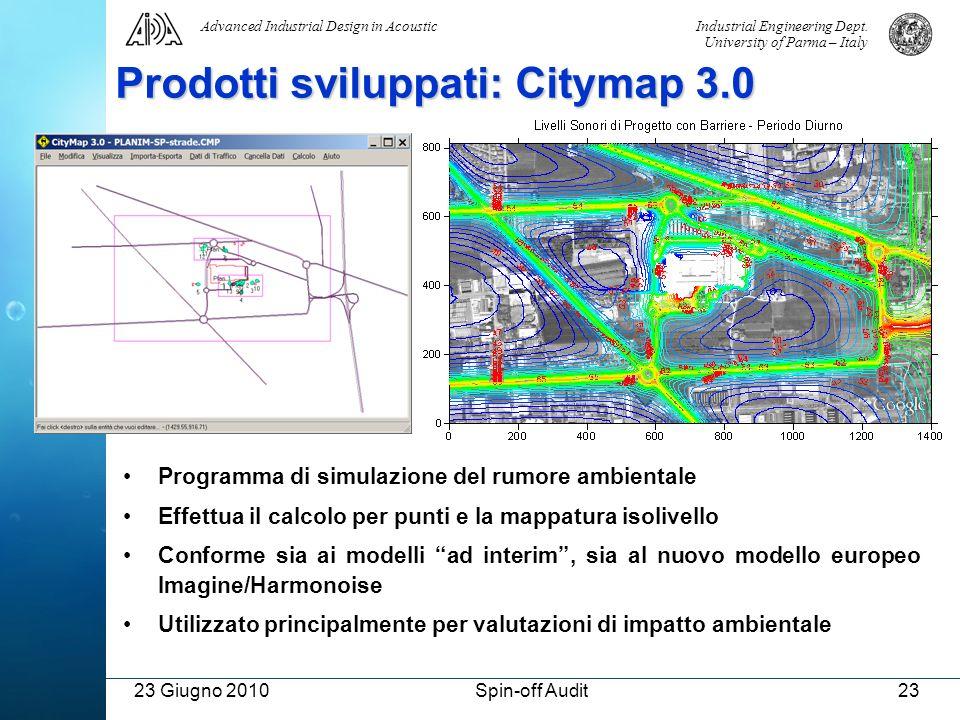 Prodotti sviluppati: Citymap 3.0