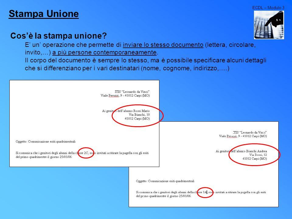 Stampa Unione Cos'è la stampa unione