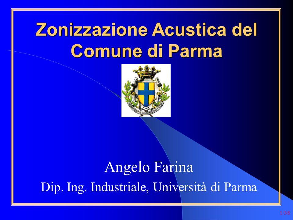 Zonizzazione Acustica del Comune di Parma