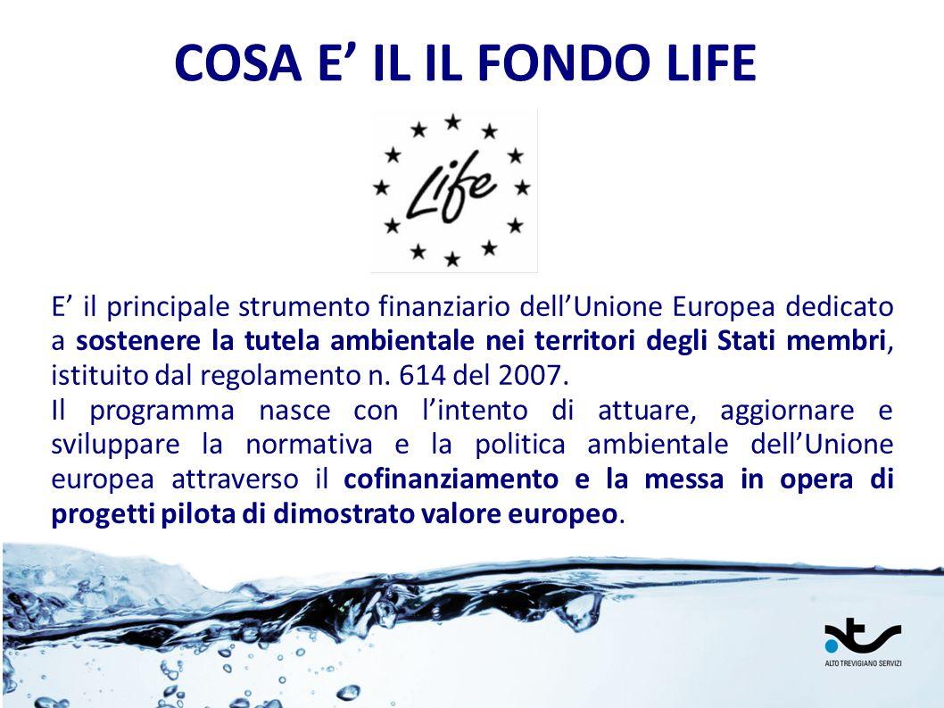 COSA E' IL IL FONDO LIFE LIFE+ 2012.