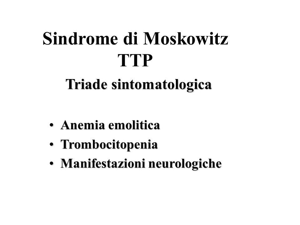 Triade sintomatologica