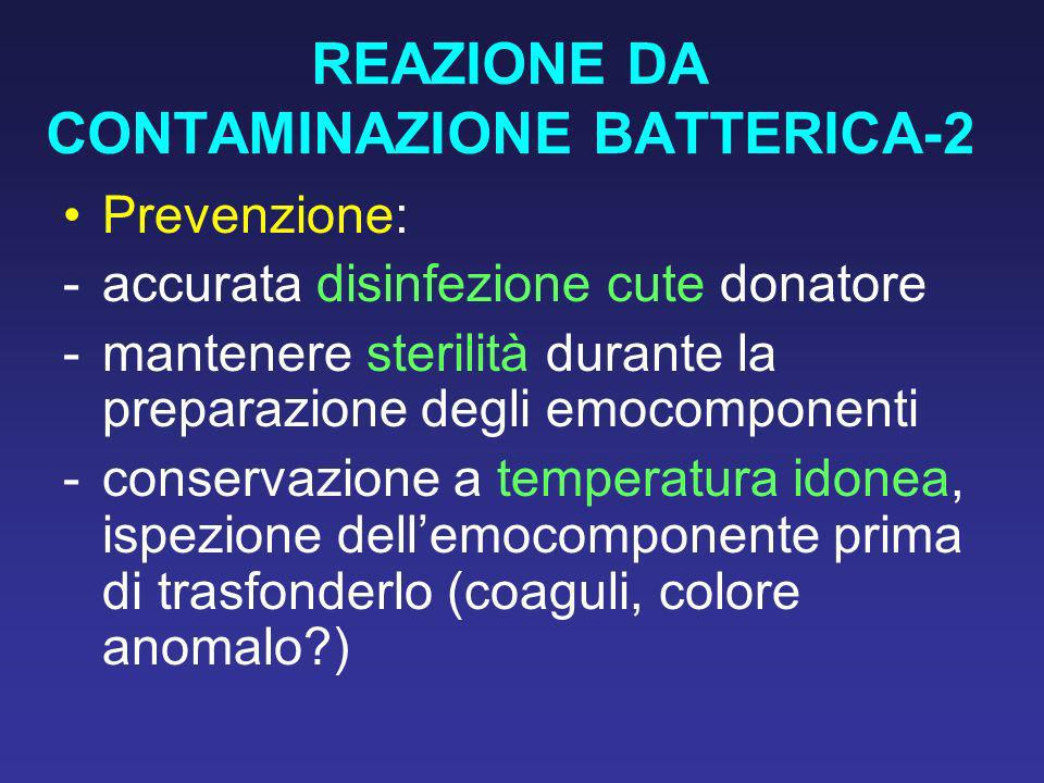 REAZIONE DA CONTAMINAZIONE BATTERICA-2